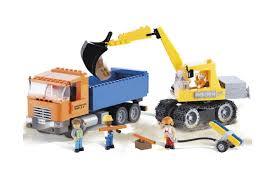 <b>Конструктор Dump Truck</b> and Excavator - <b>COBI</b>-1667 | детские ...