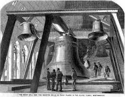 「1858, big bell in the england parliament completed named big ben after builder」の画像検索結果