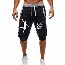 2018 <b>Summer New Mens</b> shorts Printed Casual Fashion Jogger ...