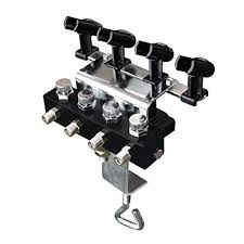 ophir airbrush holders with 1 8 splitter for 4pcs of kit_ac121
