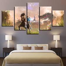 <b>Modern Canvas</b> Painting <b>Framework</b> HD Printed Wall Art Pictures 5 ...