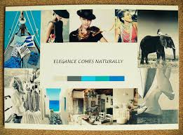 how to create a sample board for interior design project l personal style board