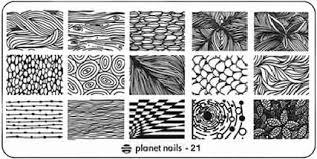 <b>Planet Nails</b>, <b>Пластина для</b> Stamping Nail Art (25 видов) - 21 | www ...