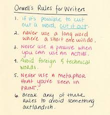 language the rules and inverness on pinterest george orwells quotrules that a writer can rely on when instinct fails