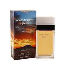 Dolce & Gabbana Light Blue Sunset in Salina Eau de ... - Amazon.com