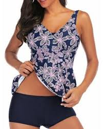 <b>2019</b> Sales on <b>M</b>-<b>XXL</b> Plus Size Women Tankini Set Swim Top+ ...