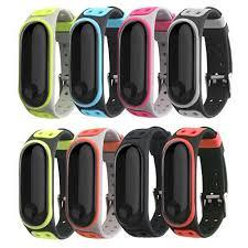 For <b>Xiaomi</b> MI Band 3/4 Strap Replacement <b>Bracelet</b> Silicone ...