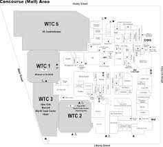 the mall at the world trade center new york new york labelscar the mall at the world trade center concourse map created by the national institute of