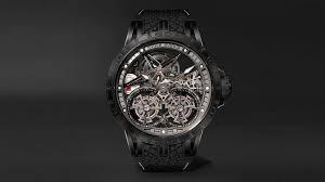 Mr Porter, Roger Dubuis Offer Unique Excalibur <b>Pirelli Ice Zero</b> Watch
