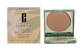 clinique superpowder double face makeup for dry bination no 02 matte beige