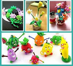 Szsrcywd <b>36 PCS Colorful</b> Kids Modeling Soft Clay Air Dry Clay ...