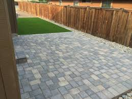 decoration pavers patio beauteous paver:  fresh design paver patio terrific synthetic turf paver patio amp flagstone path in se bend oregon