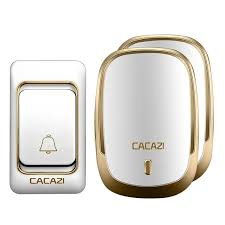 [US$11.77] <b>CACAZI</b> Music <b>DoorBell</b> Waterproof 200m Range ...