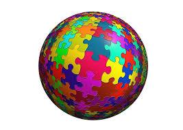 Resultado de imagen de piezas puzzle color