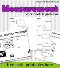 Measurement Worksheets & Problems - free fun high school math ...Measurement Worksheets & Problems