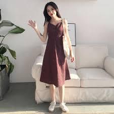Women Denim Strap <b>Skirts 2018 Summer</b> Spring Fashion Button ...