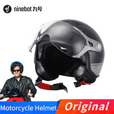 <b>Ninebot Electric Bicycle Helmet</b> Motorcycle Helmets Open Face ...