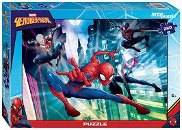 Купить пазлы Step Puzzle Марвел <b>Человек</b>-паук 2 <b>260</b> элементов ...