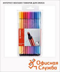 <b>Фломастеры профессиональные Stabilo</b> Pen 68 20 цветов 1мм ...