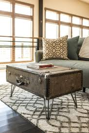 room vintage chest coffee table: how to make a suitcase coffee table