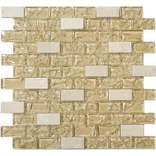 lm beige porcelain tile crema cream beige uniform brick glass and stone glossy tile