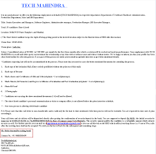 fundoo recruiter fake interview call in the of tech mahindra attachment all details