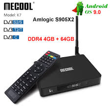 <b>Mecool</b> K7 Android 9.0 Tv Box Amlogic S905X2 DDR4 4Gb 32Gb ...