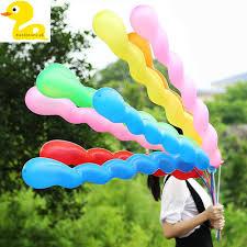 Long Thicken <b>Screw Thread Twisting</b> Latex <b>Balloon</b> Wedding Party ...