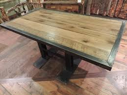 barnwood dining room furniture rustic dining tables other metro reclaimed barn wood barn wood furniture ideas