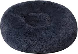 BinetGo <b>Dog Bed</b> Cat Bed <b>Cushion</b> Bed Faux Fur Donut Cuddler