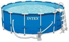 Купить летний товар <b>Intex Metal Frame 457х122см</b> blue в Москве ...