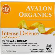 Отзывы Avalon Organics, Крем <b>Intense Defence</b> Renewal Cream с ...