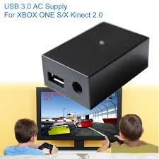 dealonow for xbox one kinect adapter s x sensor 2 0 power supply ac