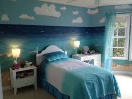 bedroomwhite blue bedroom interior design for kids with chic bedding and blue painted wall blue white contemporary bedroom interior modern