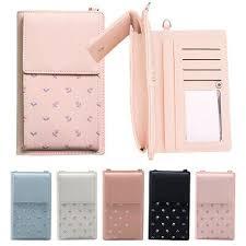 <b>Cute Printed Women</b> Phone Bag Message Leather Shoulder <b>Coin</b> ...