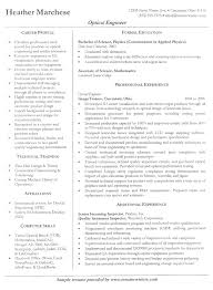 resume examples  example engineering resume resume examples for        resume examples  example engineering resume for career profile with formal education and professional experience
