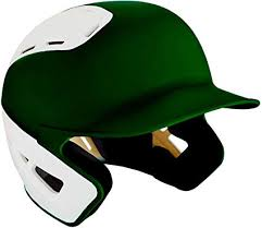 Mizuno B6 <b>Adult Baseball</b> Batting Helmet, Forest-<b>White</b>, <b>Large</b>/X ...