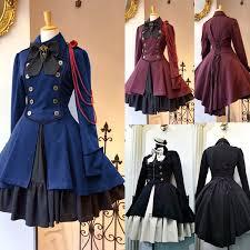 New Fashion Gothic <b>Women</b> Medieval Retro Lace Up <b>Dress</b> ...