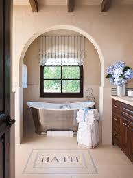 ideas bathroom tile color cream neutral:  ci allure of french and italian decor mosaic floor tile tub pg xjpgrendhgtvcom