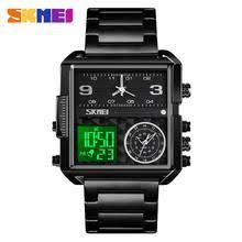 <b>SKMEI</b> Luxury <b>Men Quartz Digital</b> Watch Creative Sport Watches ...