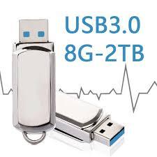 100% Real <b>Hot Metal</b> Key Chain 64GB Mini <b>USB Flash</b> Drive 128GB ...