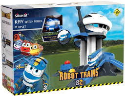 Набор <b>Robot Trains</b> - <b>Дозорная башня</b> от Silverlit, 80189 - купить в ...