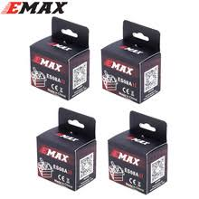 4x emax es08md metal gear digital servo up sg90 es08a es08ma mg90s trex 450 free shipping