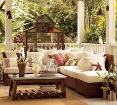 Full Size Of Living Room Coastal Outdoor Living Room Ideas Brown Wicker Sectional Sofa Rustic