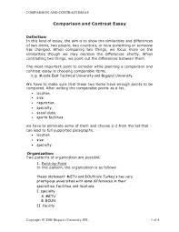 writing comparison essays how to write an a comparison essay on  how to write a comparative essay steps