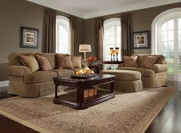 living room brown furniture contemporary