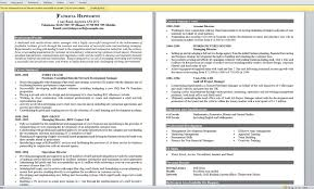 resume good example of resume  resume examples