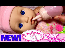 <b>Zapf Creations Baby Annabell</b> Doll Details New Outfit Bottle Feeding ...
