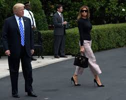 Melania Trump is obsessed with culottes. Here