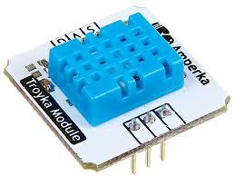 Купить Цифровой <b>датчик температуры и</b> влажности DHT11 ...